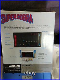 GAKKEN Konami SUPER COBRA 1982 LSI TABLETOP GAME