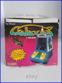 GALAXIAN Coleco Mini Electronic Tabletop Midway Arcade Game Authentic 1981