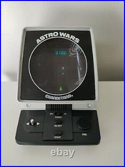 GRANDSTAND ASTRO WARS Vintage Tabletop Electronic Game