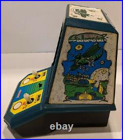 Galaxian Vintage Tabletop Electronic Game Coleco 1981 Mini Arcade Tested Works