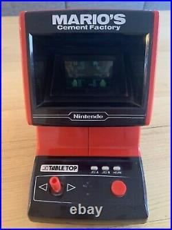 Game & Watch Marios Cement Factory Table Top Bon État Fonctionnel