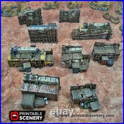 Gaslands Terrain Junkfort Ramparts 28mm Fort Apocalypse Tabletop Mad Max