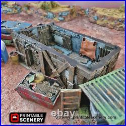 Gaslands Terrain Scrapyard (28mm) Tabletop Wargame