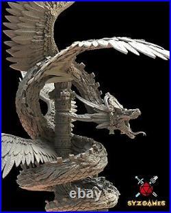 Goddess Quetzalcoatl Fantasy Miniature Warhammer D&D RPG Tabletop Game