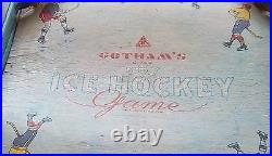 Gotham 200 hockey game 1940's table top hockey game