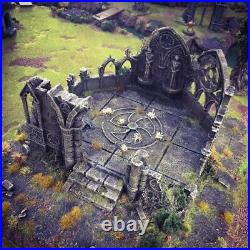 Gothic Abby 28mm Tabletop Games D&D Terrain Wargaming Dwarven Forge