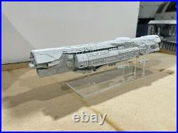 Halo Fleet Battles Unsc Infinity with strident class frigates