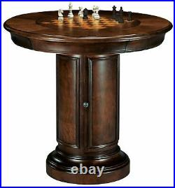 Howard Miller 699-010 (699010) Ithaca Pub & Game Table, Chess or Dining Top