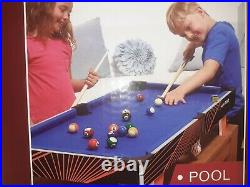 Hy-Pro 3FT 4-In-1 Table Top Multi Game Table Colour is Black with Red lines