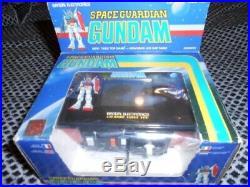 LCD game Bandai Table top arcade Space guardian gundam 1983 Game&Watch