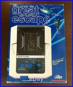 LSI Tsukuda Great Escape Handheld Tabletop Electronic Game FL Box Game Watch