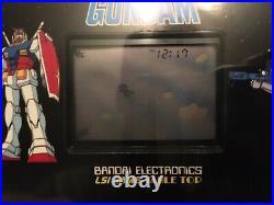 Lcd Lsi Game Table Top Arcade Space Guardian Gundam BANDAI Game & Watch 1983