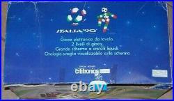 Lot 3 Retro Electronic Table Desk Top Games Cititronics Italy, Basket Tennis Race