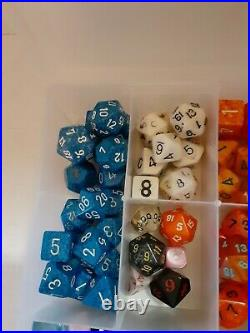 Lot of 150 RPG Gaming Dice Dungeon & Dragons Polyhedral Tabletop Board Games