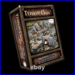 Mantic Games Terrain Crate Abandoned Town Ideal For D&D, Table Top RPG