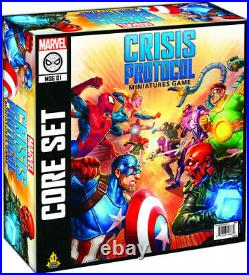Marvel Crisis Protocol Core Set New Card Game, Figure, Table Top Game