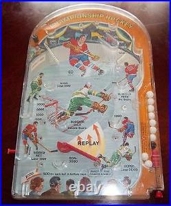 Marx Bagatelle Championship hockey Table Top Hockey Game