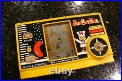 Mattel BURGERTIME Vintage LCD Electronic Handheld tabletop Arcade video game