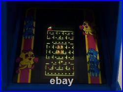 Ms pac-man table top electronic arcade game coleco nintendo 1981 91688 vgc