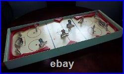 Munro Major League Hockey game 1955 table hockey, table top hockey game