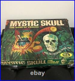 Mystic Skull The Game of Voodoo (Ideal, 1964) Vintage Tabletop Board Game