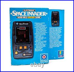 NEW 1981 Entex Space Invader Electronic Handheld Tabletop Arcade Video game RARE
