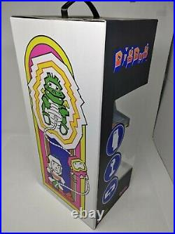 NIB Dig Dug 1/4 Scale Arcade Machine Numskull Quarter Arcade Game Tabletop