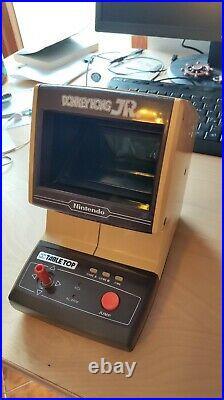 NINTENDO GAME & WATCH G&W DONKEY KONG JR TABLETOP perfettamente funzionante