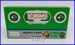 NOS Nintendo Game & Watch Micro Vs System Series Donkey Kong 3 HK-302 MINT MIB