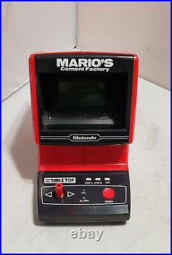 Nintendo Game & Watch Mario's Cement Factory Tabletop Game