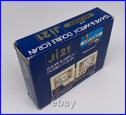 Nintendo Game & Watch Multi Screen IJ21 Rain Shower LP-57 1983 RARE I. J21 CIB