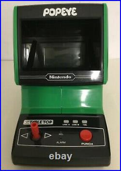 Nintendo Game & Watch Popeye Tabletop Electronic Near Mint Works Perfectly Rare