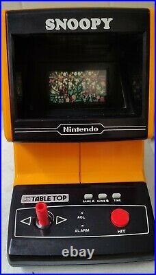 Nintendo Game&Watch Snoopy Tabletop SM-73