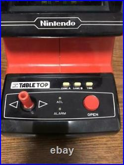Nintendo Game Watch Table Top Mario Cement Factory with Box Used Operation OK JP