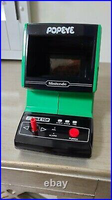 Nintendo Popeye Table Top Mini Console Video Game