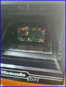 Nintendo Snoopy Table Top Game Watch SM-73 Disney Vintage Mario Rare boxed VGC