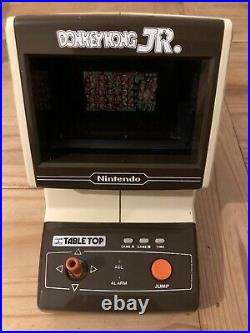 Nintendo Table Top Donkey Kong Jr Game And Watch Vintage 1983 Game CJ-71 Excel