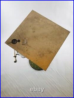 Old Antique Metal Table Top Chuck A Luck Dice Game 3 Original Die