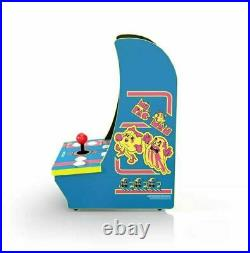 PAC MAN Arcade 1 Up PlayStation Countertop 4 Game in 1 Tabletop Cabinet Machine