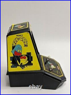 PAC-MAN Vintage 1981 Tabletop Electronic Game Coleco Mini Arcade by Midway Wow
