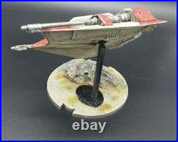 Painted Star Wars Legion Rebel T-47 Airspeeder custom base tabletop 28mm