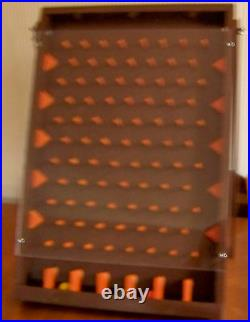 Plinko Drinko Tabletop Wooden Board Game Painted