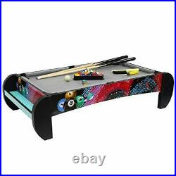 Pool Table and Billiard Table Top Games for Kids, Completed Pool Table Top and