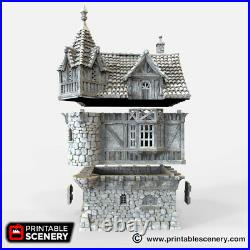 Port Winterdale The Governor's Mansion 28mm Tabletop Games D&D Terrain Wargaming