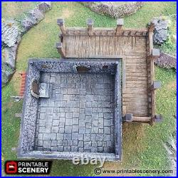 Port Winterdale The Tavern 28mm Tabletop Games D&D Terrain Wargaming Dwarven