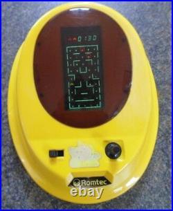 Pucki And Monsters Romtec Rare Handheld Tabletop Game Vintage 1982 Working