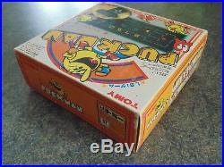 Puckman Tomy The Rare Japanese One Tabletop Game 1981 Boxed 100% Complete