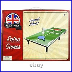 Quality Table Top Table Tennis Set Gift Games Adults Kids Family