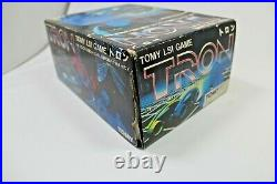 RARE Vintage Disney Tron Tomy LED LSI Table Top Game F/S