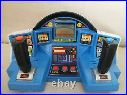Rare Bandai Popy Machine Man Dolphin Hand Held Table Top Electronic Game Watch